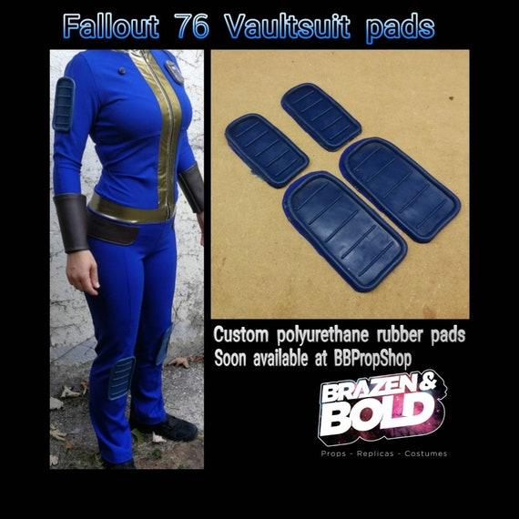 Fallout 76 Vaultsuit Rubber Pads Etsy