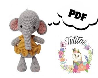 La Infanta Elefanta: Patrón de Amigurumi - Galamigurumis ... | 270x340