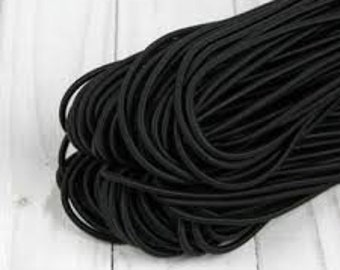 5 meter rubber band for masks 1 mm , elastic band rubber cord, rubber cord