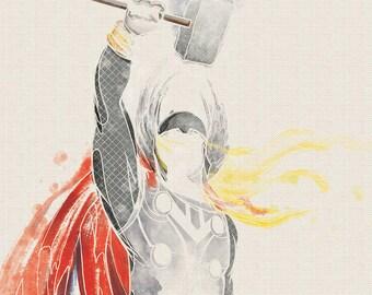 Marvel Thor Art Print