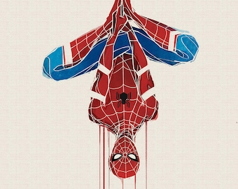 Marvel Spider-Man Art Print