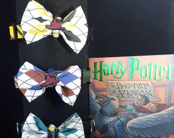 Harry Potter Inspired Dog Bows - For Belted Collars