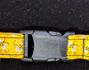 Mini Bees Dog and Collar w/ Coordinating Leash