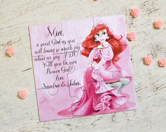 will you be my flower girl card flower girl invitation etsy
