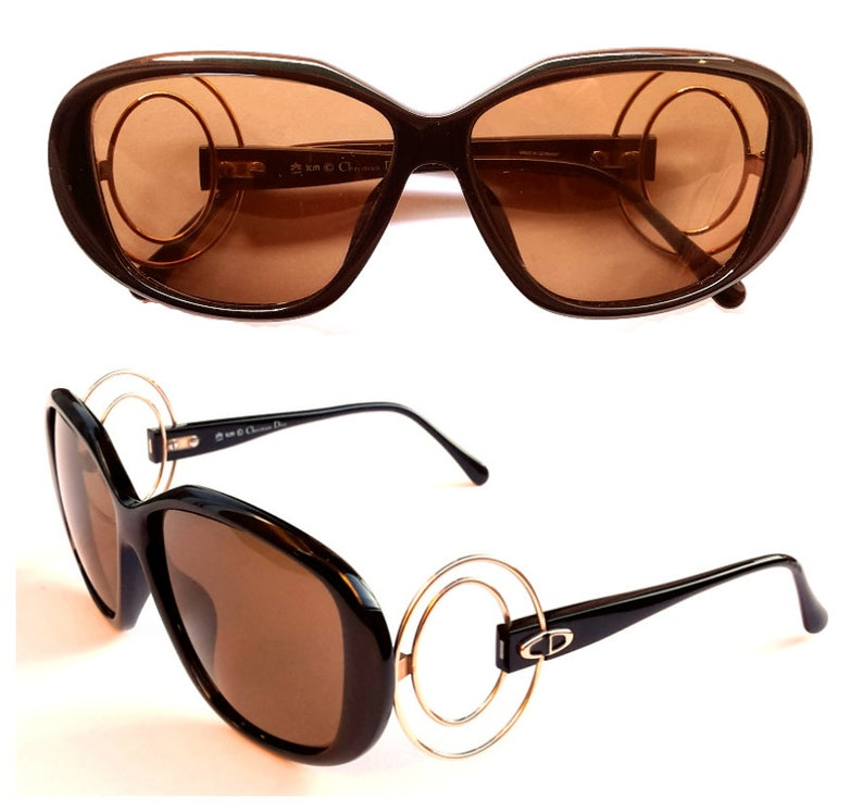 2a3439348551 Vintage Sunglasses Christian Dior 2558 NEW 80s Women