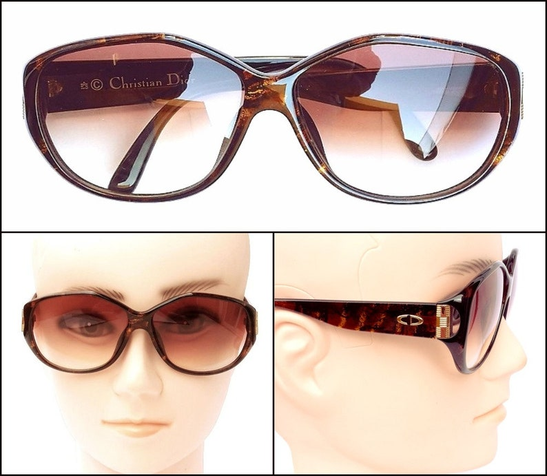 fd93f92d5a0 Christian Dior 2497 80s Authentic Sunglasses NEW Vintage