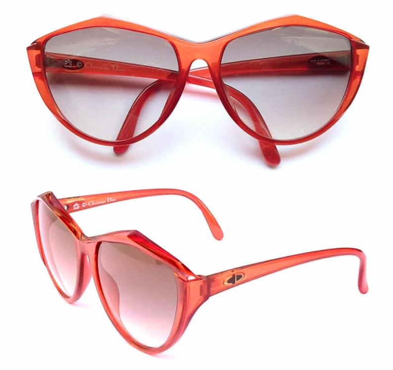 d778673cf079 Vintage Sunglasses Christian Dior 2234 NEW Cat Eye