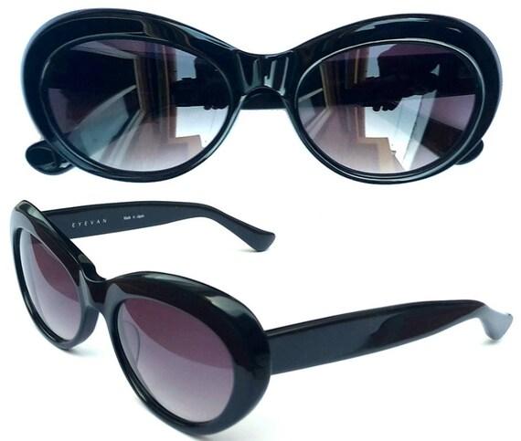 Lunettes de soleil Vintage Eyevan E-54 a Kurt Cobain nouveau   Etsy e071631ef771