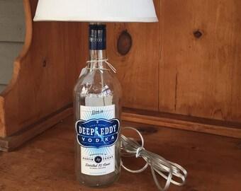 Deep Eddy Original Vodka Bottle Lamp (750ml Bottle)
