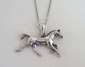 Horse pendant etsy silver horse necklace horse pendant silver horse necklace silver necklace silver jewelry horse jewelry sterling silver jewelry aloadofball Gallery