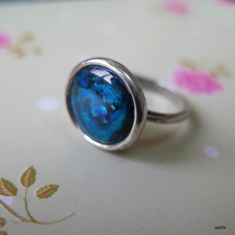 USA vendeur Boucles d'oreilles Blue Lab Opal sterling silver 925 Meilleur Prix Cadeau Bijoux Autres