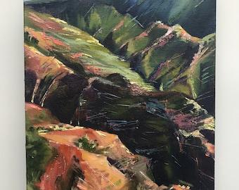 "Kauai Valley// 9"" x 12"" // Original Oil Painting// by Mandie Aberra"