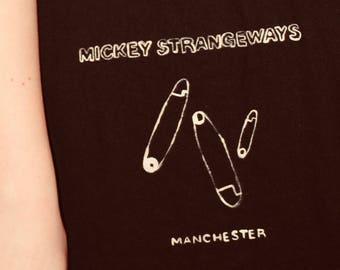Mickey Strangeways Manchester Hand-painted Tote Bag