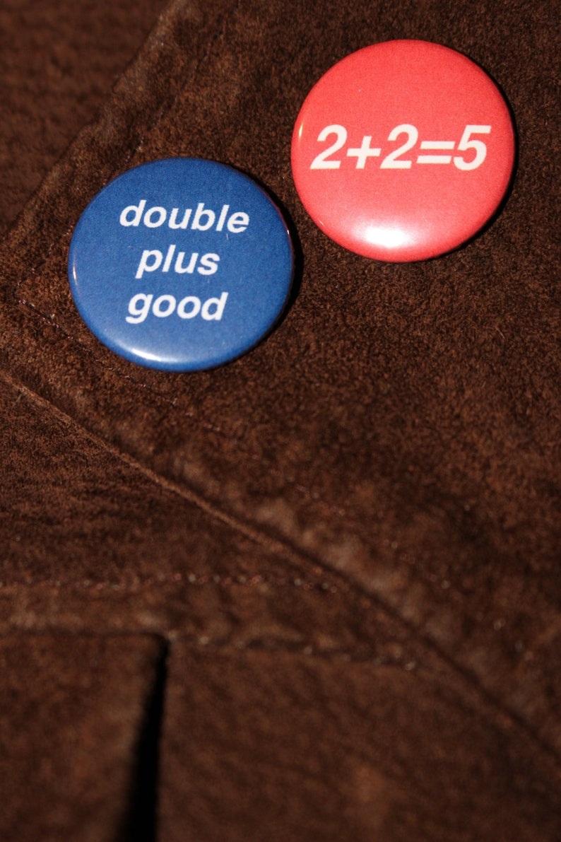 Classic Penguin Books Button Badges Handmade Iconic