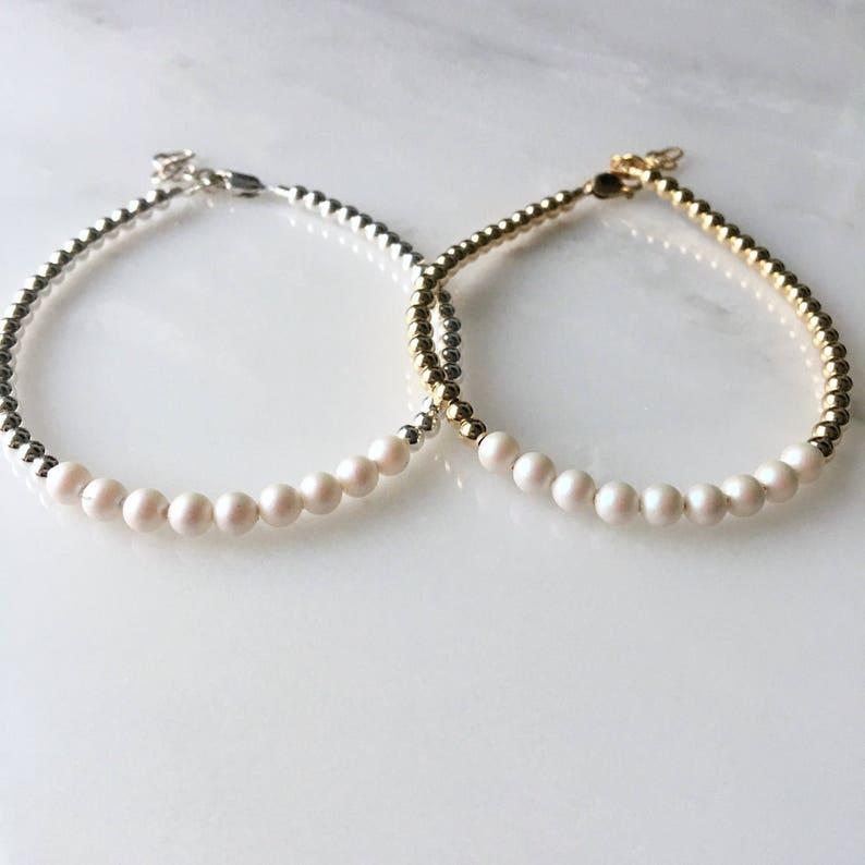 Swarovski Pearl Beaded Bracelet Swarovski Bracelet Swarovski  c18ba686f6d7