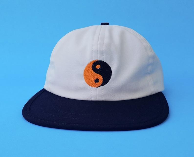 ef256f57e Mac DeMarco Yin Yang Thrift Store Polo Cap Dad Hat Toogumshoe
