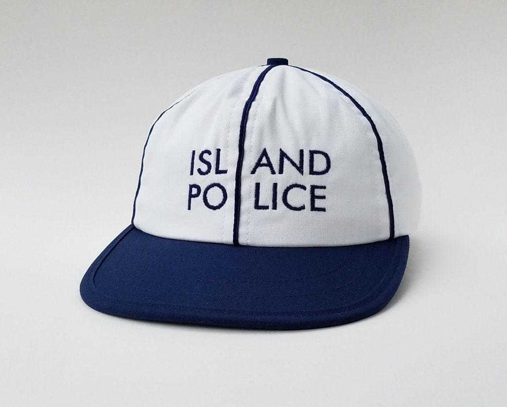 1d626a35e Island Police Moonrise Kingdom Toogumshoe Polo Cap Dad Hat