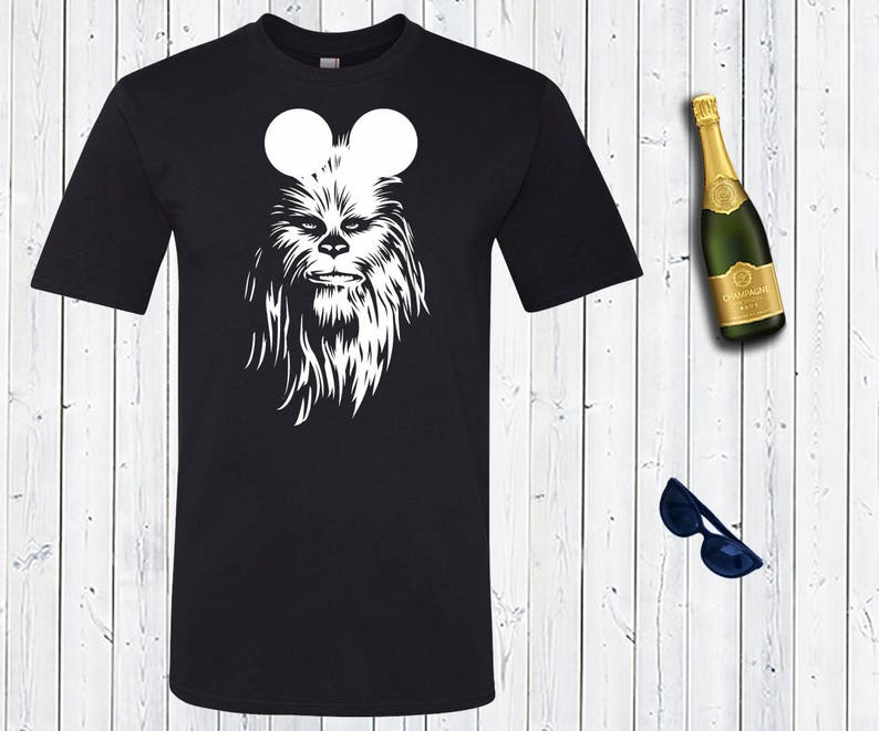 e6fbf299 Star Wars Disney Chewbacca Men's Shirt. Darth Vader Dad | Etsy