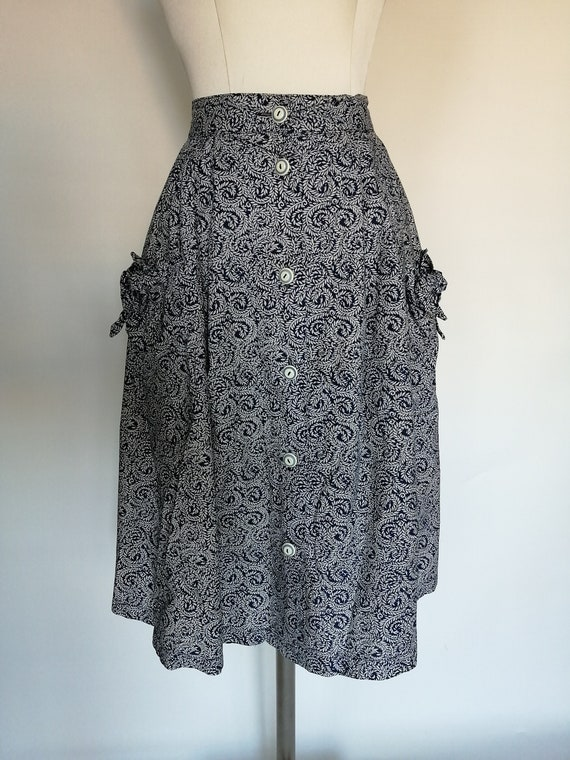 Complete skirt blouse 1980s - image 2