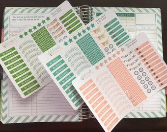 Back to School (Color Coded) -- Made to fit the Mormon Mom Planner & Mom on the Go Planner