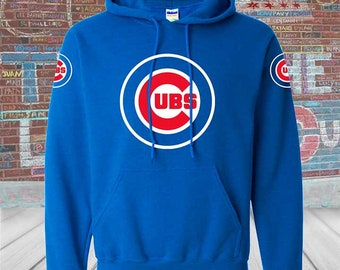 check out aeb47 f2254 Chicago cubs hoodie | Etsy