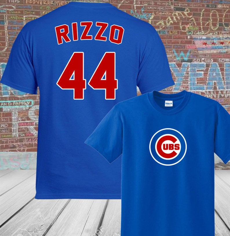 outlet store 156e7 769be Chicago Cubs Anthony Rizzo #44 Shirt