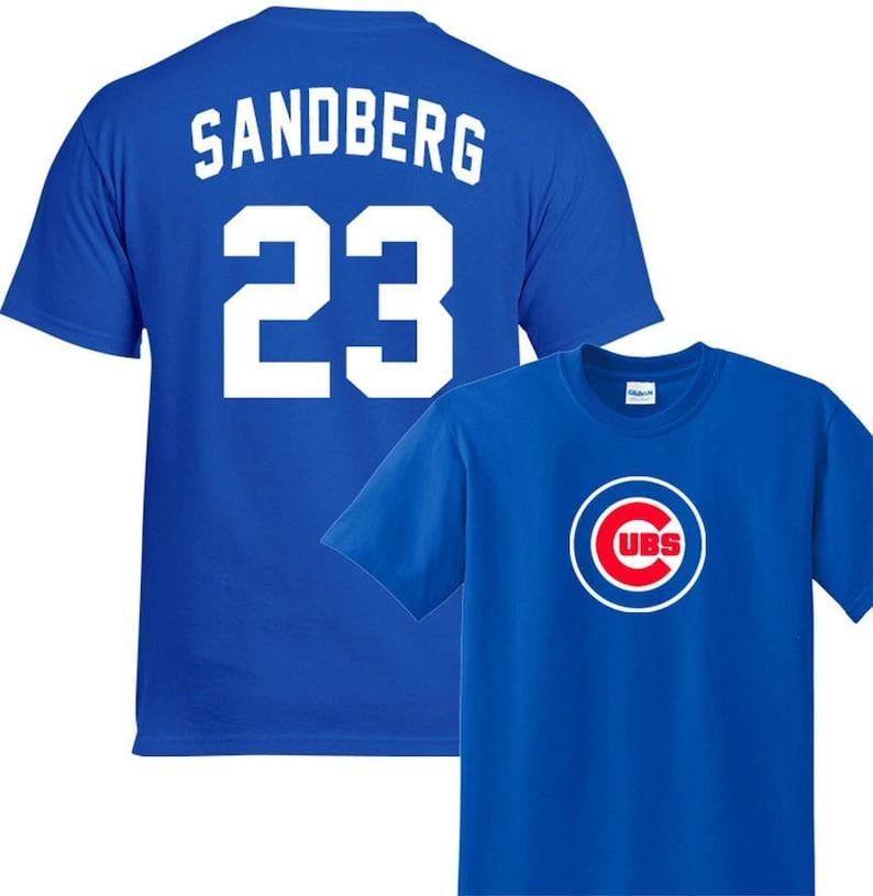new concept 62f3c 6b87d Chicago Cubs Ryne Sandberg #23 Shirt