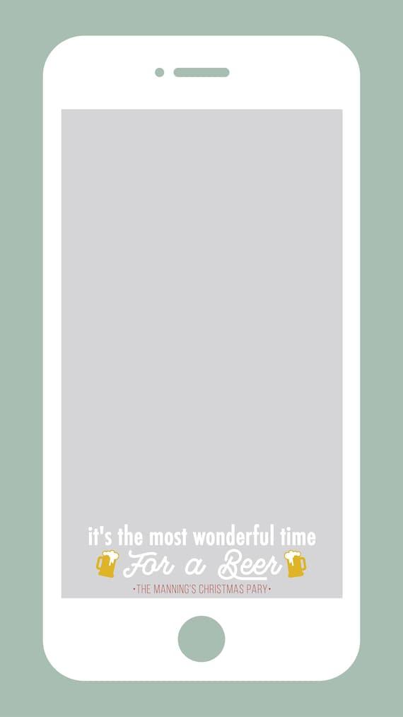 Weihnachten Snapchat Filter Holiday Party Snapchat Geofilter | Etsy