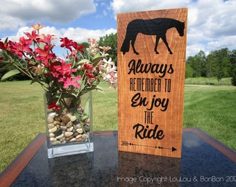 Horse Sign, Horse Gift, Equine Sign, Equestrian Sign, Horse Lover Gift, Equestrian Gift, Equine Decor, Western Pleasure Horse, Horse Showing