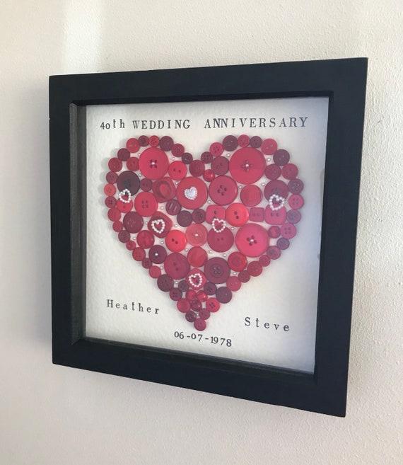 40th Wedding Anniversary Ruby Wedding Anniversary