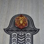 Tabletop RPG D20 Unmined Mountain