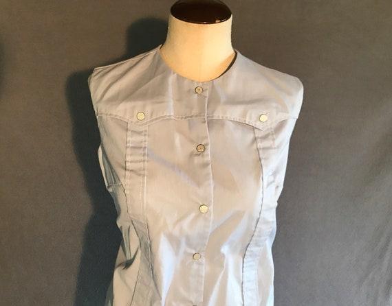Vintage 60s or 70s Shirt Dress - image 1