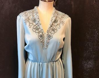 1970s Lilli Diamond California Dress