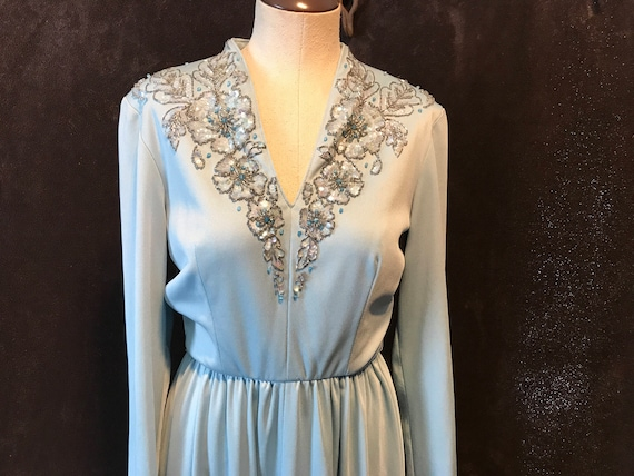 1970s Lilli Diamond California Dress
