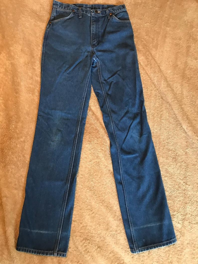 9e6d435c Vintage Wrangler 32x36 jeans neat denim regular fit | Etsy