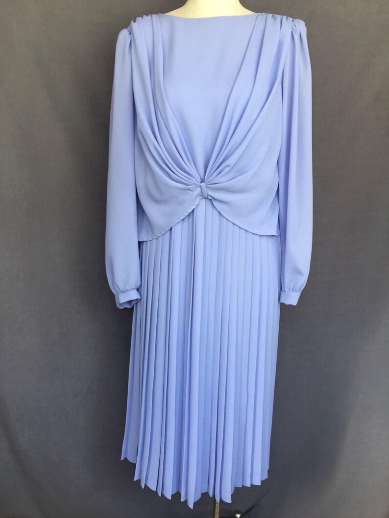 f979aefe4c Vintage 1970s JCPenney Blouson Dress