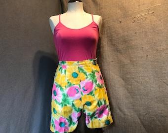 Vintage 1970s High Waist Shorts
