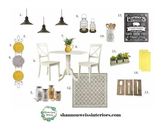 Kitchen e design affordable interior design services etsy for Cheap interior design services