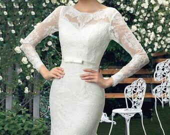 Wedding dress Mermaid style