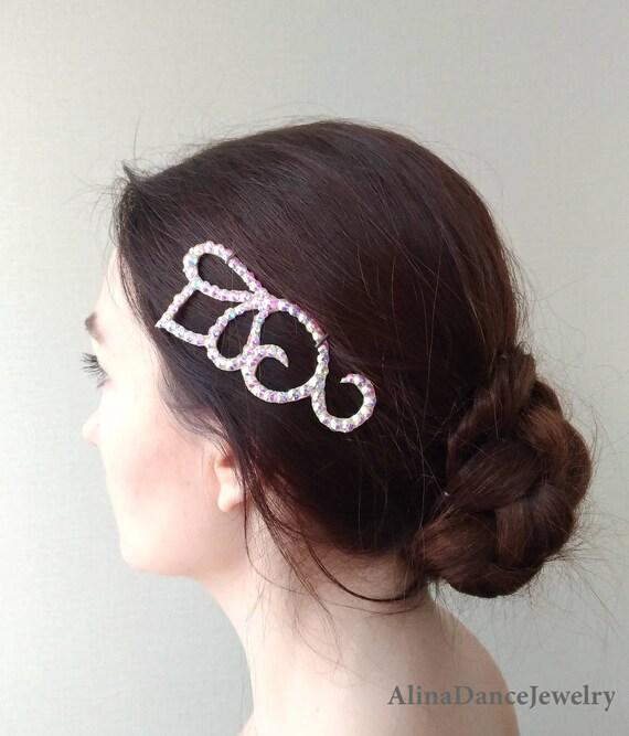 Ballroom Hair Piece Ballroom Jewelry Ballroom Dance Hair Etsy