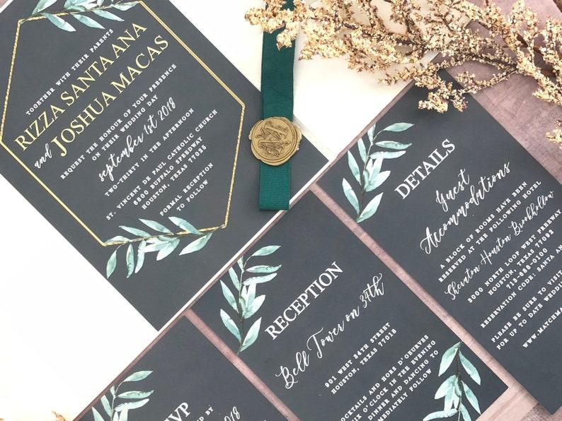 The Rizza Wedding Invitation Collection