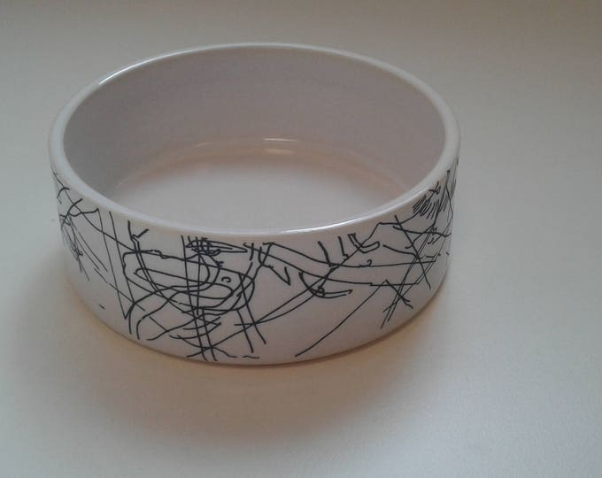 Ceramic ramekin by Gosia Wlodarczak in collaboration with Maria Lieberman