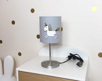 Staande Lamp Kinderkamer : Eenhoorn lamp etsy