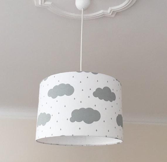 Deckenlampe Kinderzimmer, Lampenschirm, Kinderlampe, Kinderzimmerlampe,  Lampe Wolken, Hängelampe Kinder, Lampenschirm Stehlampe