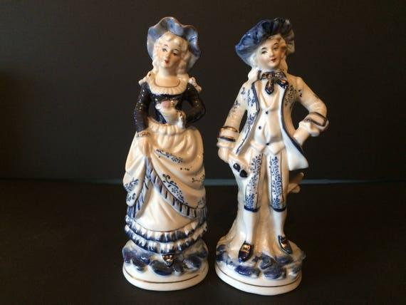 Set of two Vintage figurines