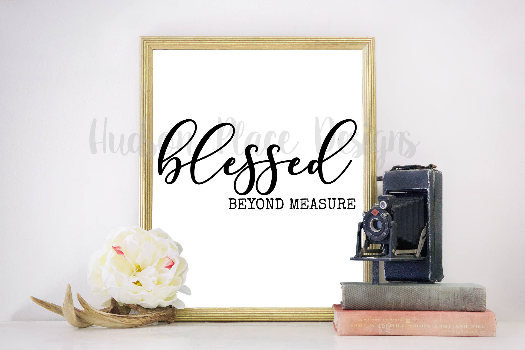 blessed beyond measure .svg file .png file .pdf file Cricut | Etsy