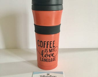 Coffee Thermos Decal