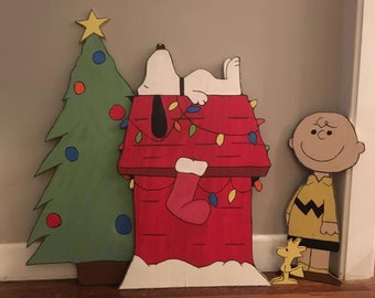 charlie brown christmas cutouts - Charlie Brown Christmas Decorations