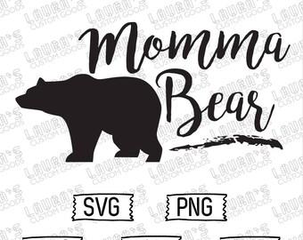 Momma Bear Card