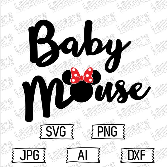 Baby Minnie Mouse Svg Minnie Mouse Papa Svg Minnie Svg Etsy